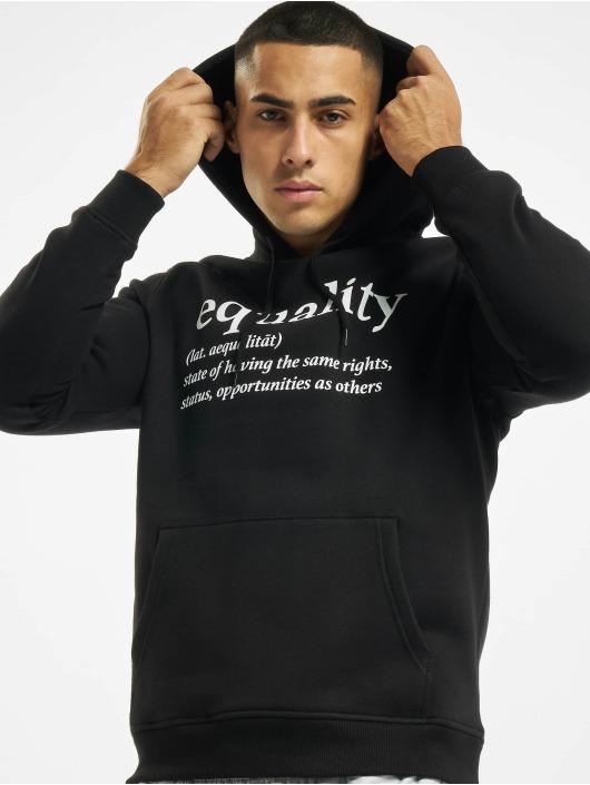 Mister Tee Bluzy z kapturem Equality czarny