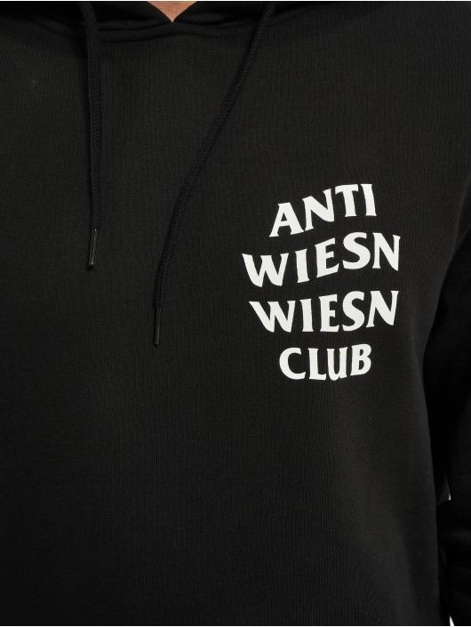 Mister Tee Bluzy z kapturem Wiesn Club czarny