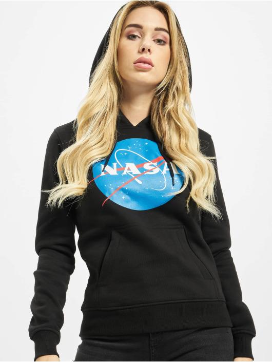 Mister Tee Bluzy z kapturem Ladies NASA Insignia czarny