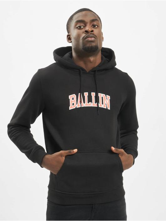 Mister Tee Bluzy z kapturem Ballin Statement czarny