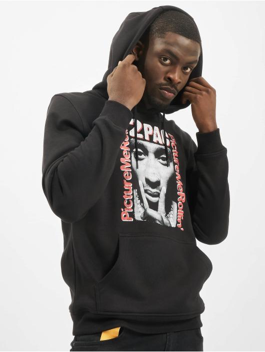 Mister Tee Bluzy z kapturem Tupac Boxed In czarny