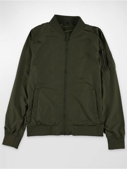 Mister Tee Bomber jacket Tiger olive