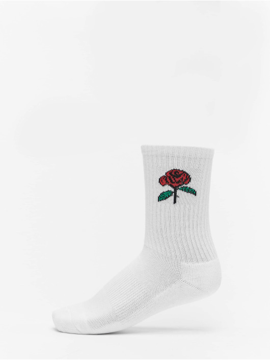 Mister Tee Calcetines Rose 3-Pack blanco