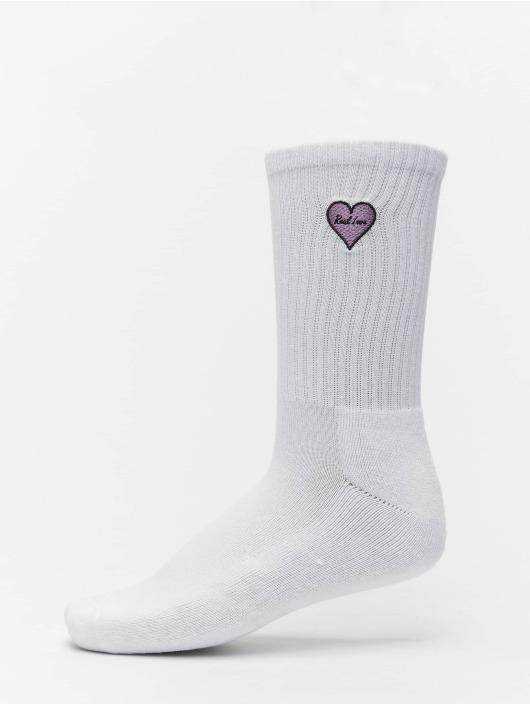 Mister Tee Calzino Heart Embroidery 3 Pack bianco