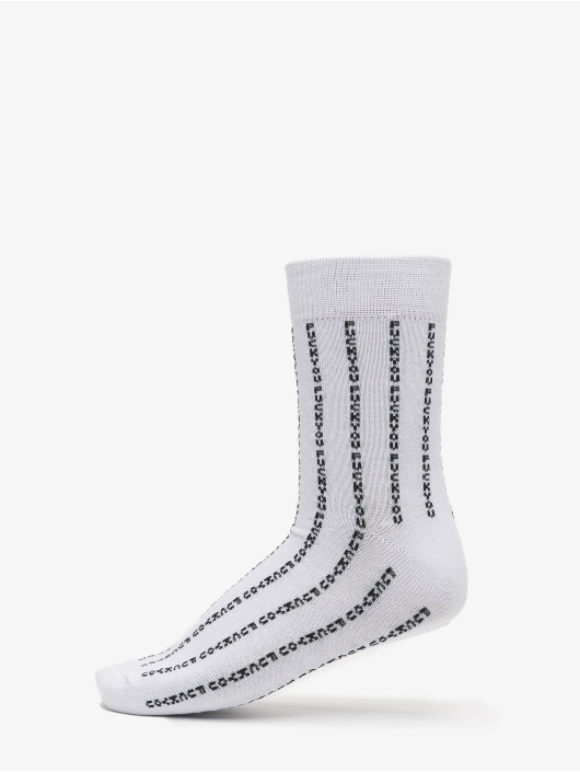 Mister Tee Calzino Fuck You Socks 3-Pack nero