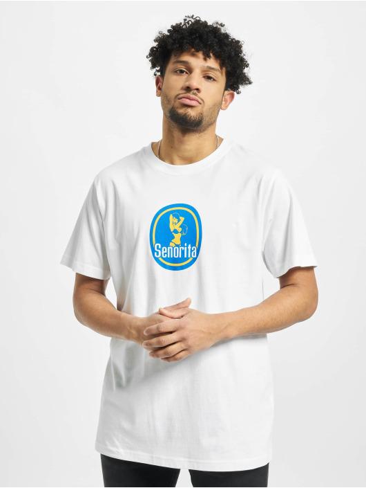 Mister Tee Camiseta Senorita blanco