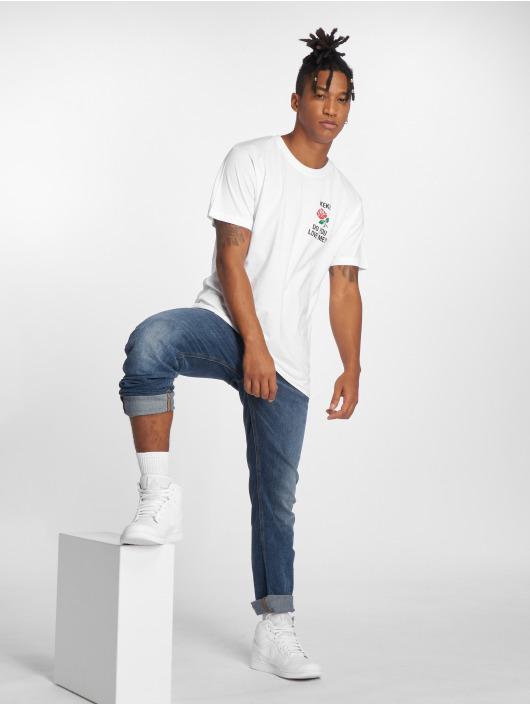 Mister Tee Camiseta Keke Love blanco