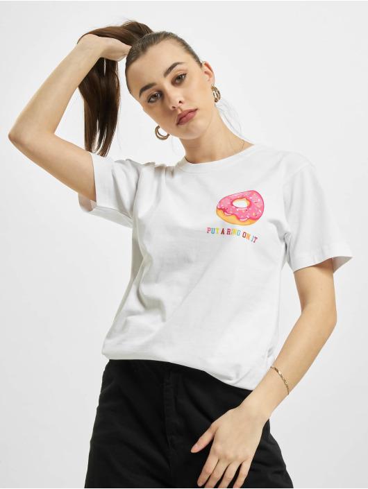 Mister Tee Camiseta Ring On It blanco