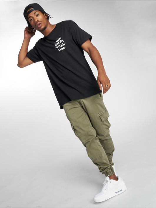 Mister Tee Camiseta Wiesn Club negro
