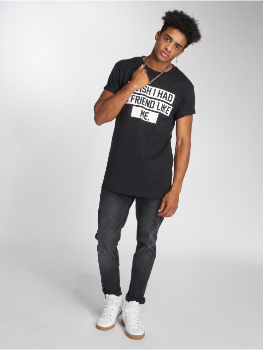 Mister Tee Camiseta Friend Like Me negro