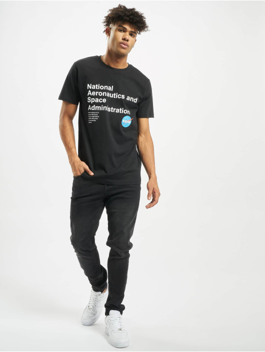 Mister Tee Camiseta NASA Definition negro