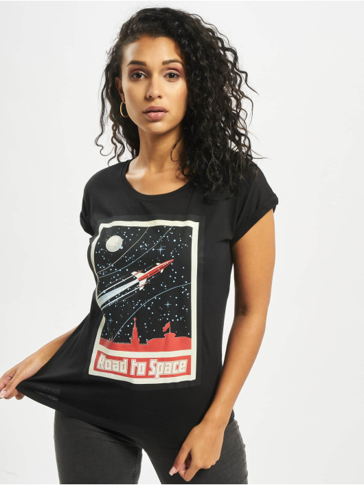 Mister Tee Camiseta Road To Space negro