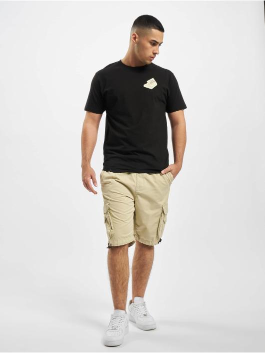 Mister Tee Camiseta Pizza Francesco negro