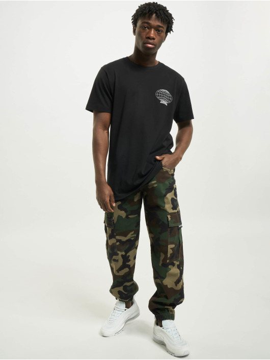 Mister Tee Camiseta Search For Paradise negro