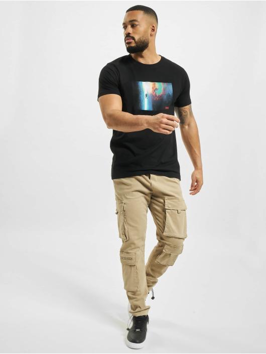 Mister Tee Camiseta Nasa Planet Trip negro