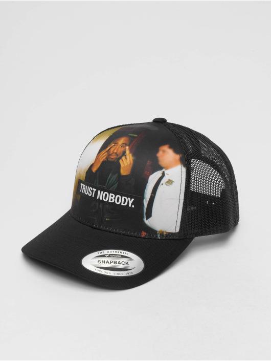Mister Tee Casquette Trucker mesh Tupac Trust Nobody Retro noir