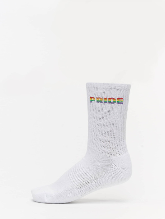 Mister Tee Chaussettes Pride 3-Pack blanc