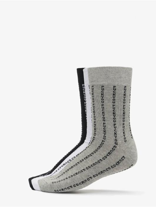 Mister Tee Chaussettes Fuck You Socks 3-Pack noir