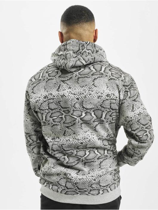 Mister Tee Felpa con cappuccio Snake grigio