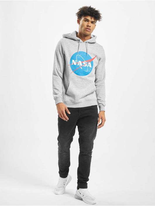 Mister Tee Felpa con cappuccio NASA grigio