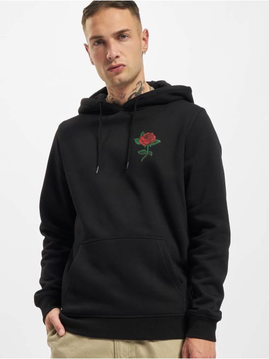 Mister Tee Felpa con cappuccio Rose nero