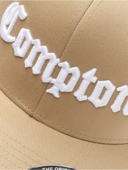 Mister Tee Gorras Flexfitted Compton caqui