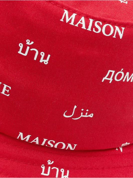 Mister Tee hoed Maison rood