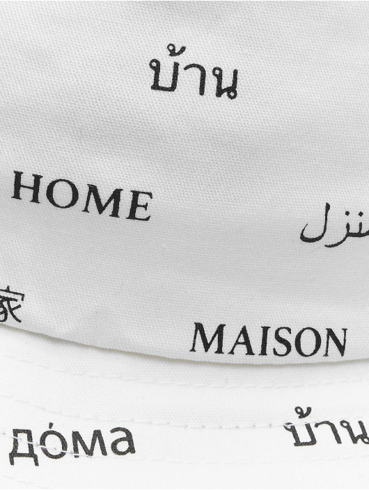 Mister Tee hoed Maison wit