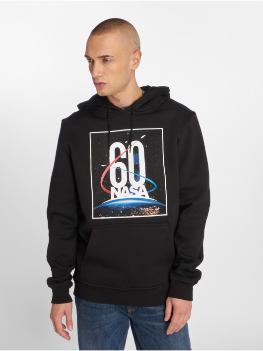Mister Tee Hoodie Nasa 60th Anniversary black