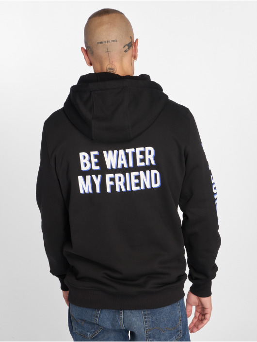 Mister Tee Hoodie Bruce Lee Be Water My Friend black