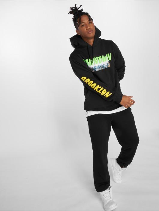 Mister Tee Hoodie Downtown black