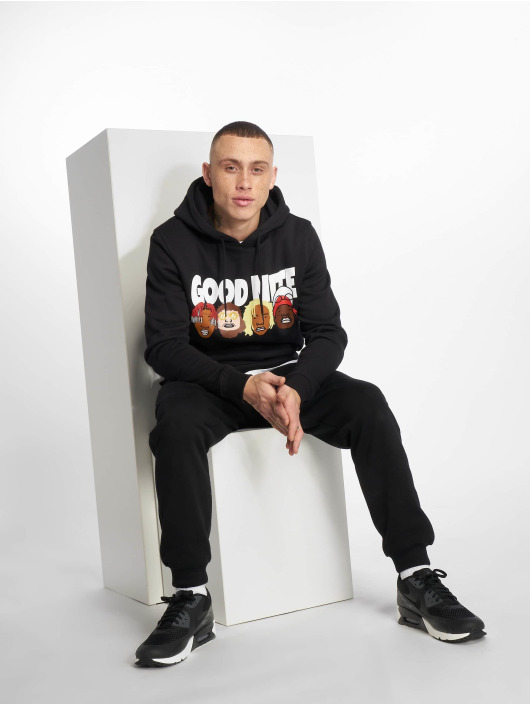 Mister Tee Hoodie Goodnite black