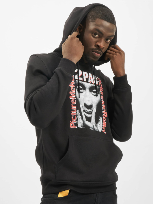 Mister Tee Hoodie Tupac Boxed In black