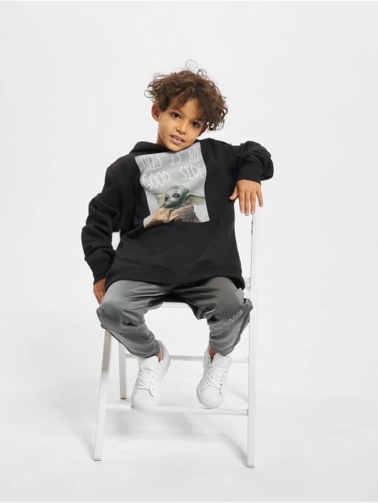 Mister Tee Hoodie Kids The Mandalorian The Child Good Side black