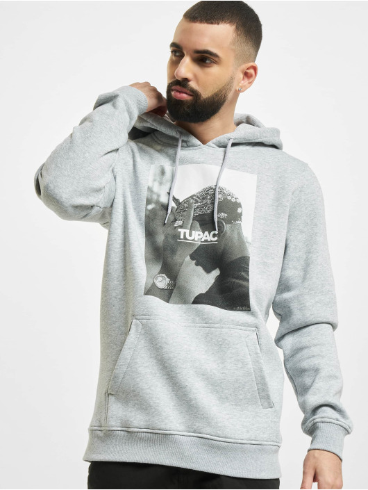 Mister Tee Hoodie 2pac F*ck The World gray