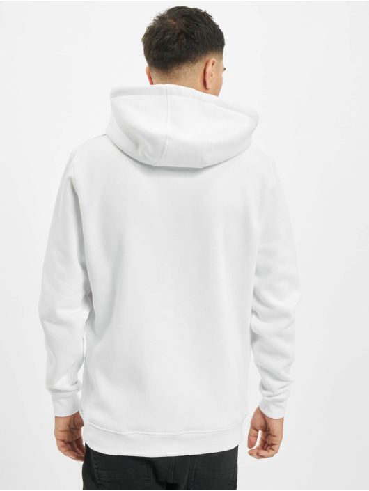 Mister Tee Hoodie Embroidered Rose white