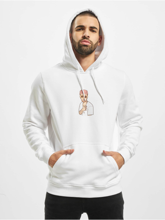 Mister Tee Hoodie Milly white