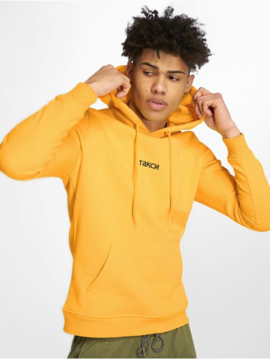 Mister Tee Hoodie Taxi yellow