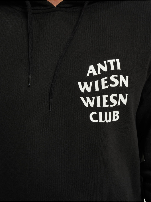 Mister Tee Hoodies Wiesn Club čern