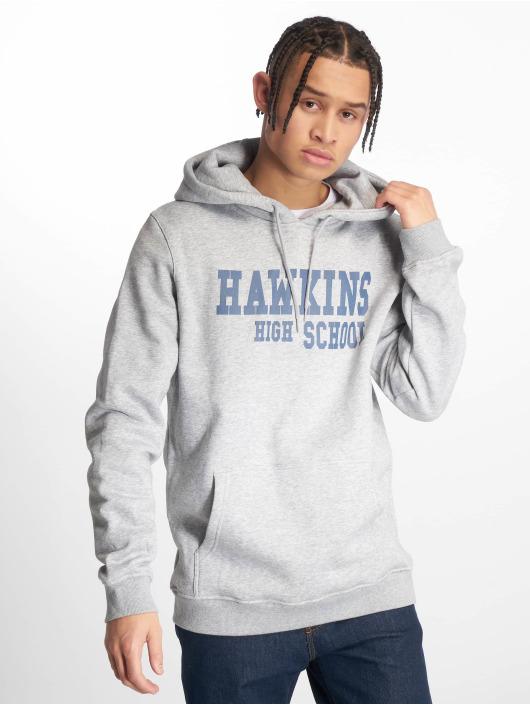 Mister Tee Hoody Hawkins Highschool grau