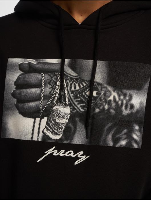 Mister Tee Hoody Pray 2.0 schwarz