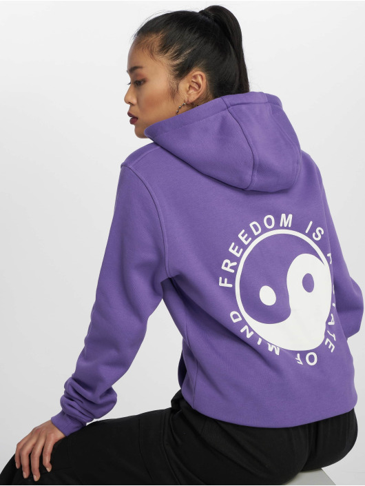 Mister Tee Hoody State Of Mind violet