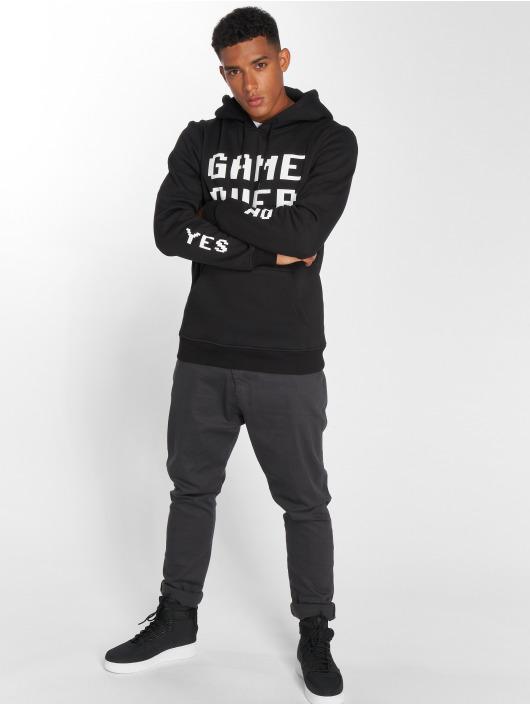 Mister Tee Hoody Game Over zwart