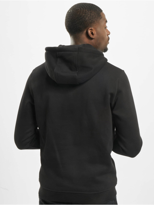 Mister Tee Hoody Dark Pray zwart