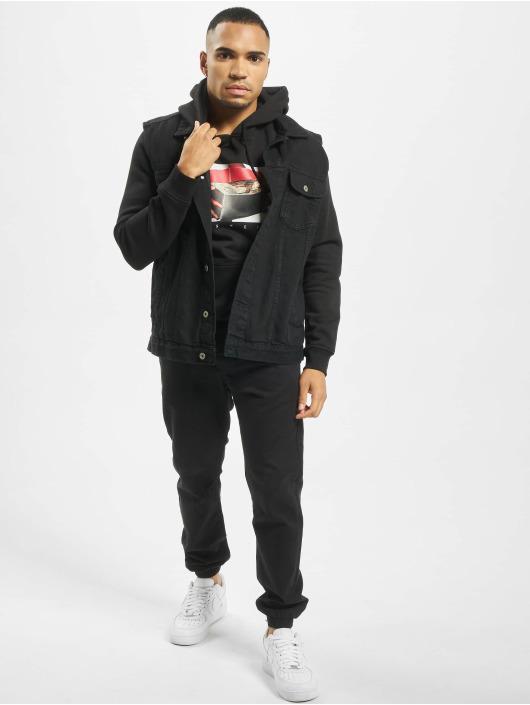 Mister Tee Hoody Hustlin´ zwart
