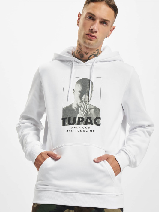 Mister Tee Hupparit 2Pac Prayer valkoinen