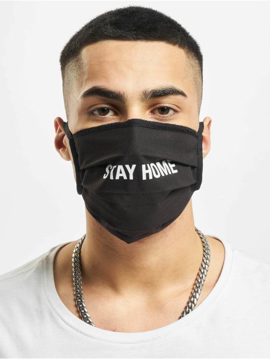 Mister Tee Iné Stay Home Face Mask èierna