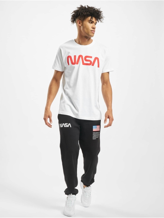 Mister Tee Joggingbyxor NASA Heavy svart