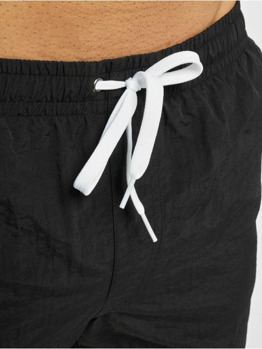 Mister Tee Koupací šortky NASA Worm Logo čern