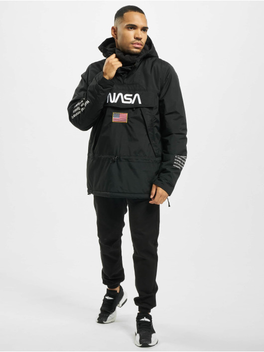 Mister Tee Lightweight Jacket Nasa black